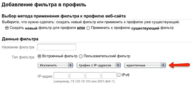 Google Analytics снимок 2